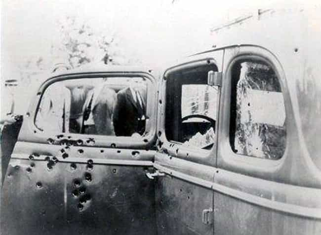 Bonnie and Clyde's Ford ... is listed (or ranked) 1 on the list This Gruesome Photo Shows The Moment Bonnie And Clyde Were Riddled With Bullets