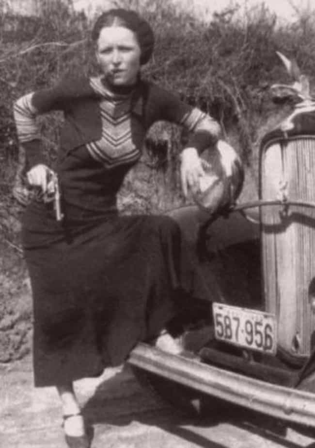 One Of Their Undertakers... is listed (or ranked) 3 on the list This Gruesome Photo Shows The Moment Bonnie And Clyde Were Riddled With Bullets
