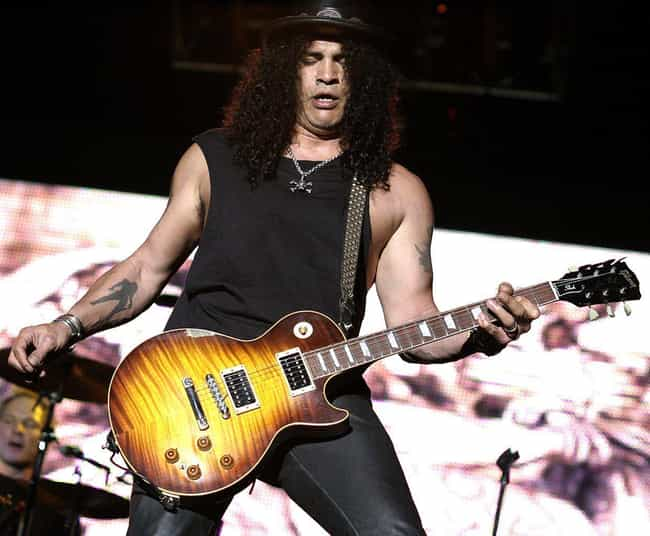 Slash Brought A Mountain Lion ... is listed (or ranked) 4 on the list Absolutely Unhinged Behind-The-Scenes Guns N' Roses Stories