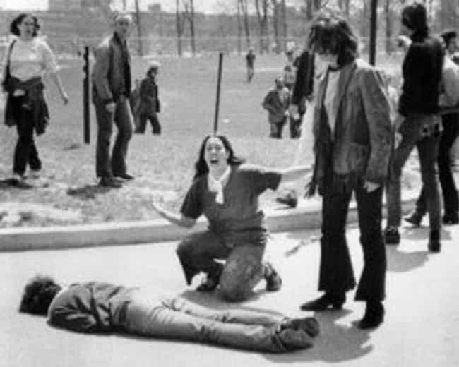 Mary Ann Vecchio Screams In Di... is listed (or ranked) 1 on the list This Shocking Photo Captured The Violence Of The '70s Vietnam Protest Movement