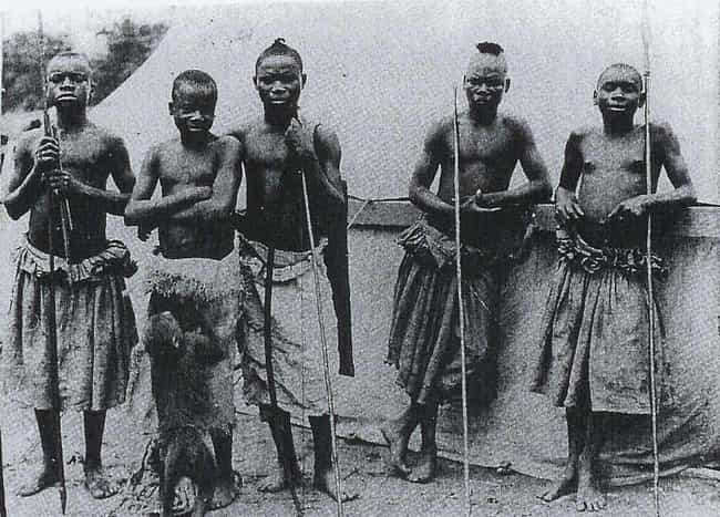 He Was A Crowd-Pleaser At The ... is listed (or ranked) 3 on the list Heartbreaking Facts About Human Zoo Exhibit Ota Benga