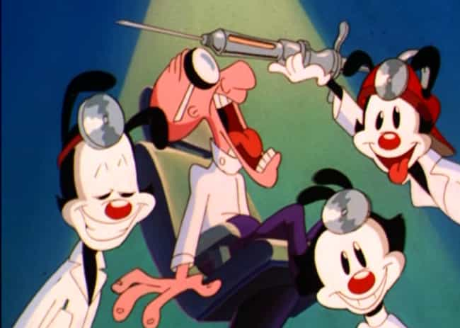 Childcare Is Provided By Non-R... is listed (or ranked) 4 on the list Why The Animaniacs Are Secretly A Bizarre Metaphor For The Perfect Nuclear Family