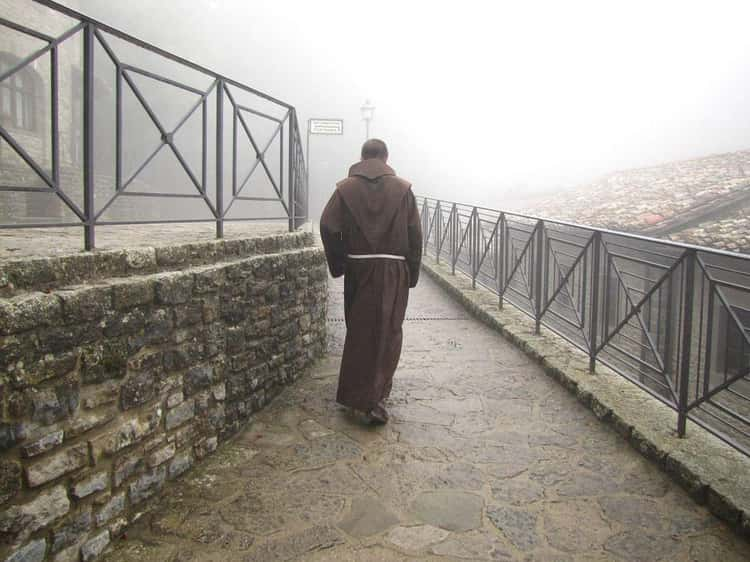 Mad Monks Chase And Torture Teenaged Trespassers