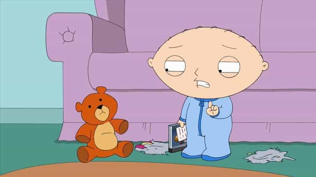Family Guy Is Stewie's Interpr... is listed (or ranked) 1 on the list Family Guy Fan Theories So Crazy They Might Be True