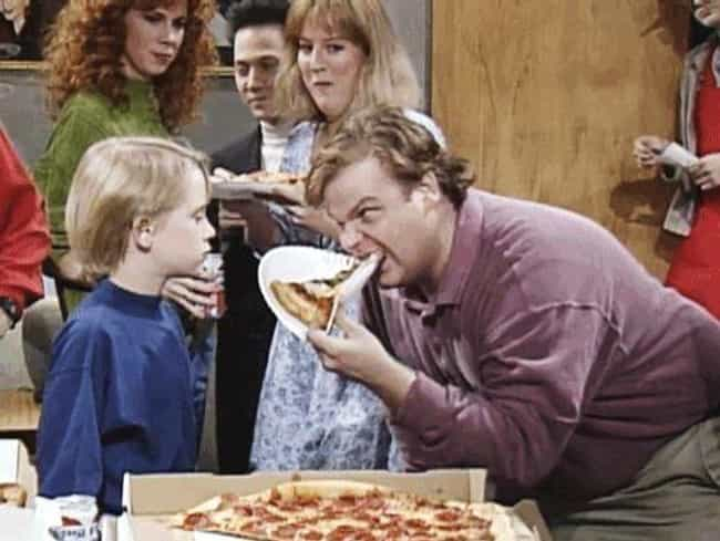 When It Came To Food, He Would... is listed (or ranked) 3 on the list Hilarious And Disgusting Chris Farley Stories That Will Make You Laugh And Puke