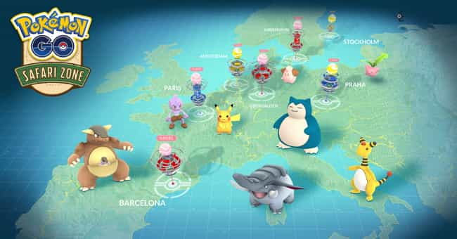 Europe Events is listed (or ranked) 2 on the list Pokémon GO Just Announced All Of Its Summer Events