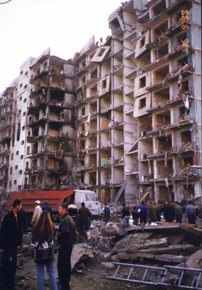 Four Major Detonations O... is listed (or ranked) 2 on the list Were The 1999 Russian Apartment Bombings A Putin-Organized Terror Tactic Intended To Start A War?