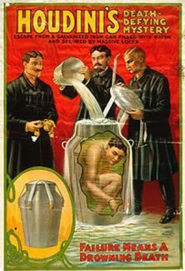 Genesta Trapped Himself In A M... is listed (or ranked) 1 on the list These Doomed Magic Acts That Ended In Tragedy