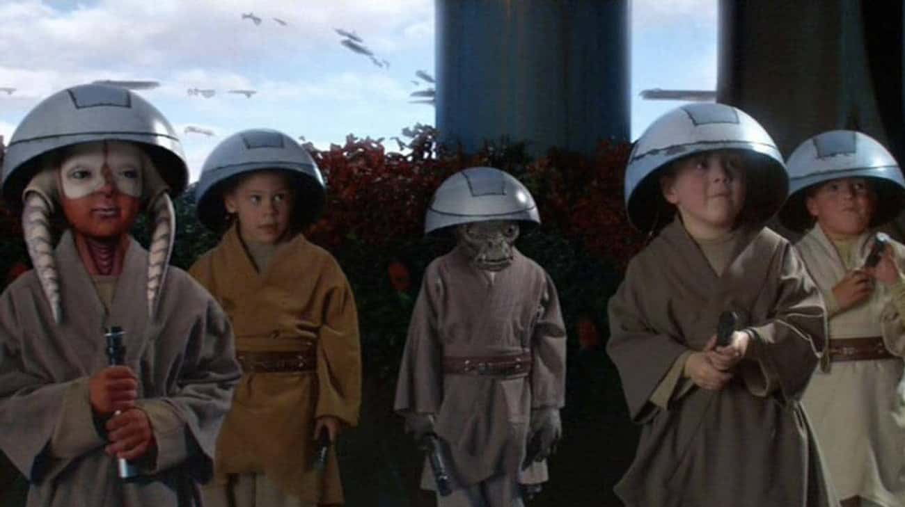 Younglings Start Each Day With is listed (or ranked) 1 on the list What Daily Life Is Like For A Jedi