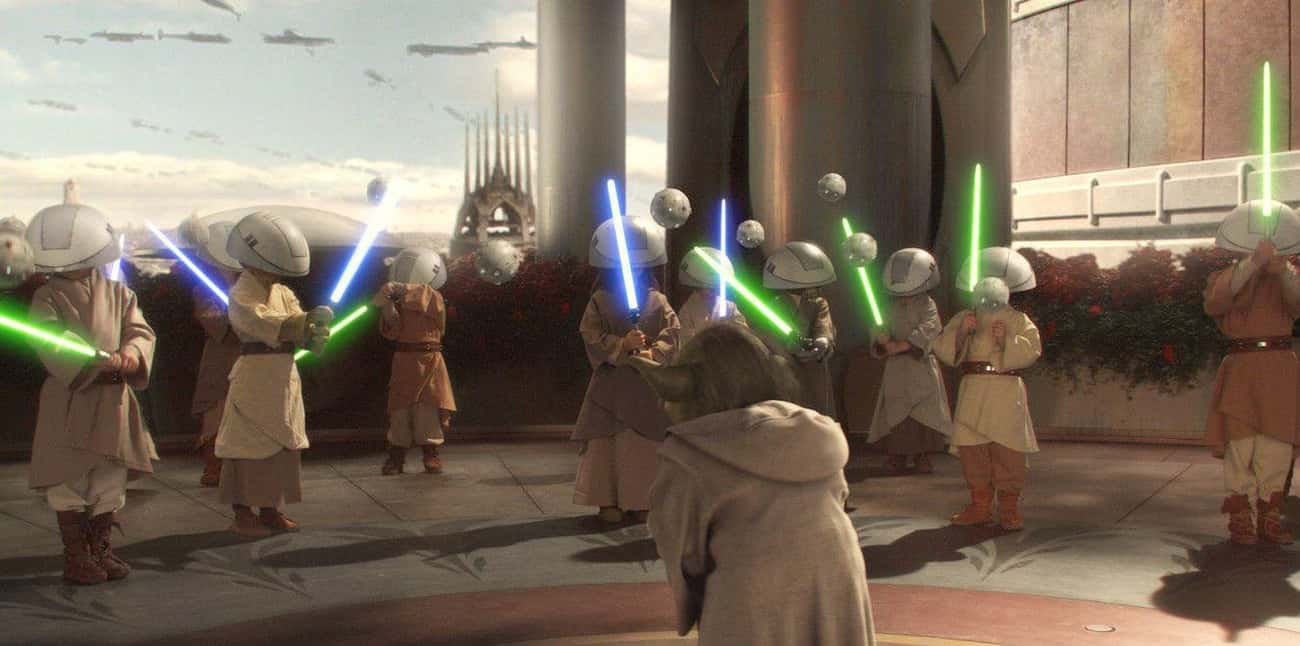 Younglings Then Move Onto Phys is listed (or ranked) 2 on the list What Daily Life Is Like For A Jedi