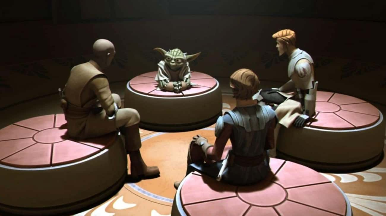 Each Jedi Initiate Has To Set  is listed (or ranked) 3 on the list What Daily Life Is Like For A Jedi