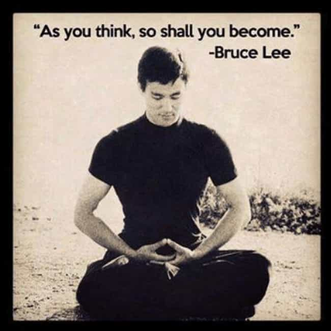 Open Your Mind My Friend... is listed (or ranked) 4 on the list Funniest Martial Arts Memes Only Bruce Lee Fans Will Get