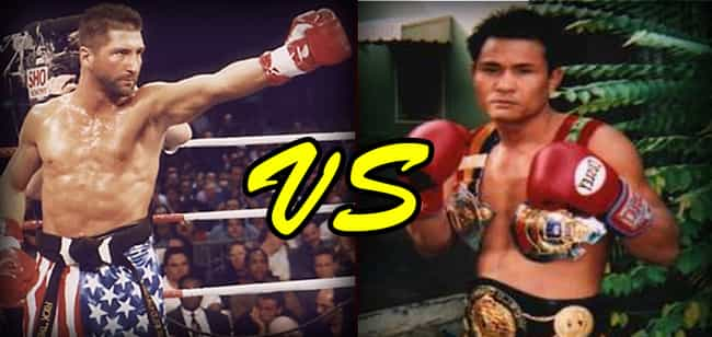 Rick Roufus vs. Changpuek Kiat... is listed (or ranked) 2 on the list Famous Real Fights That Shaped Martial Arts