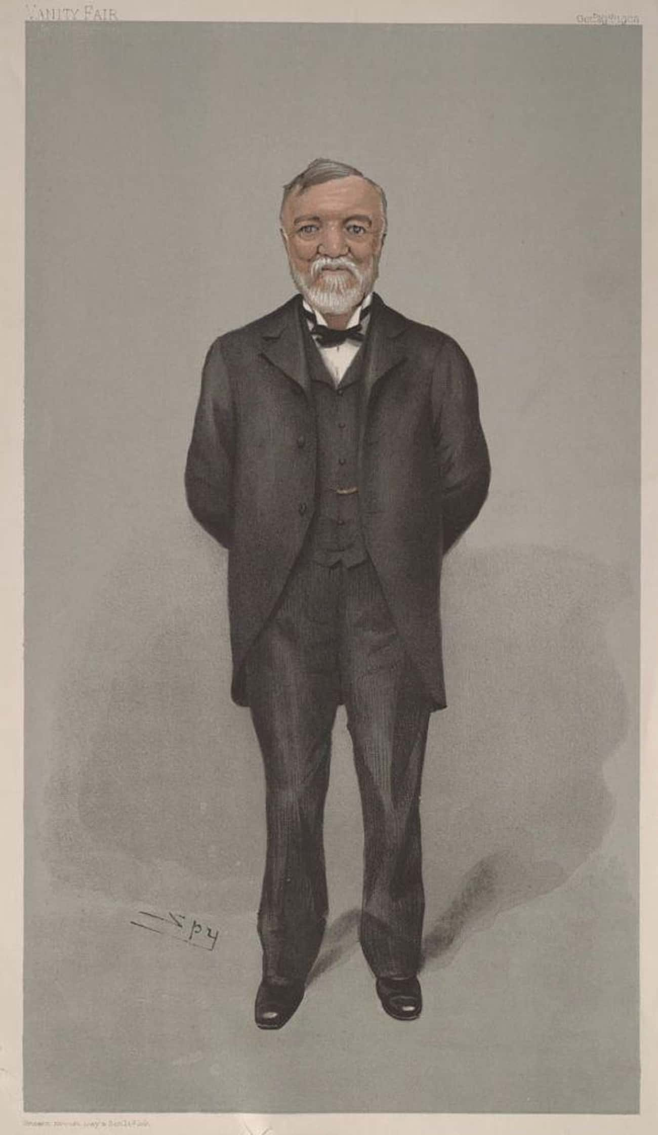 He Justified His Low Wages By  is listed (or ranked) 4 on the list Robbing From The Poor To Give To The Rich: Andrew Carnegie And His Mega-Legacy