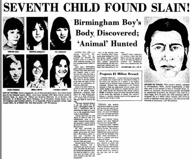 Horrific Details Behind The Unsolved Case Of 4 Murdered Michigan Children  Left On Display Across Town