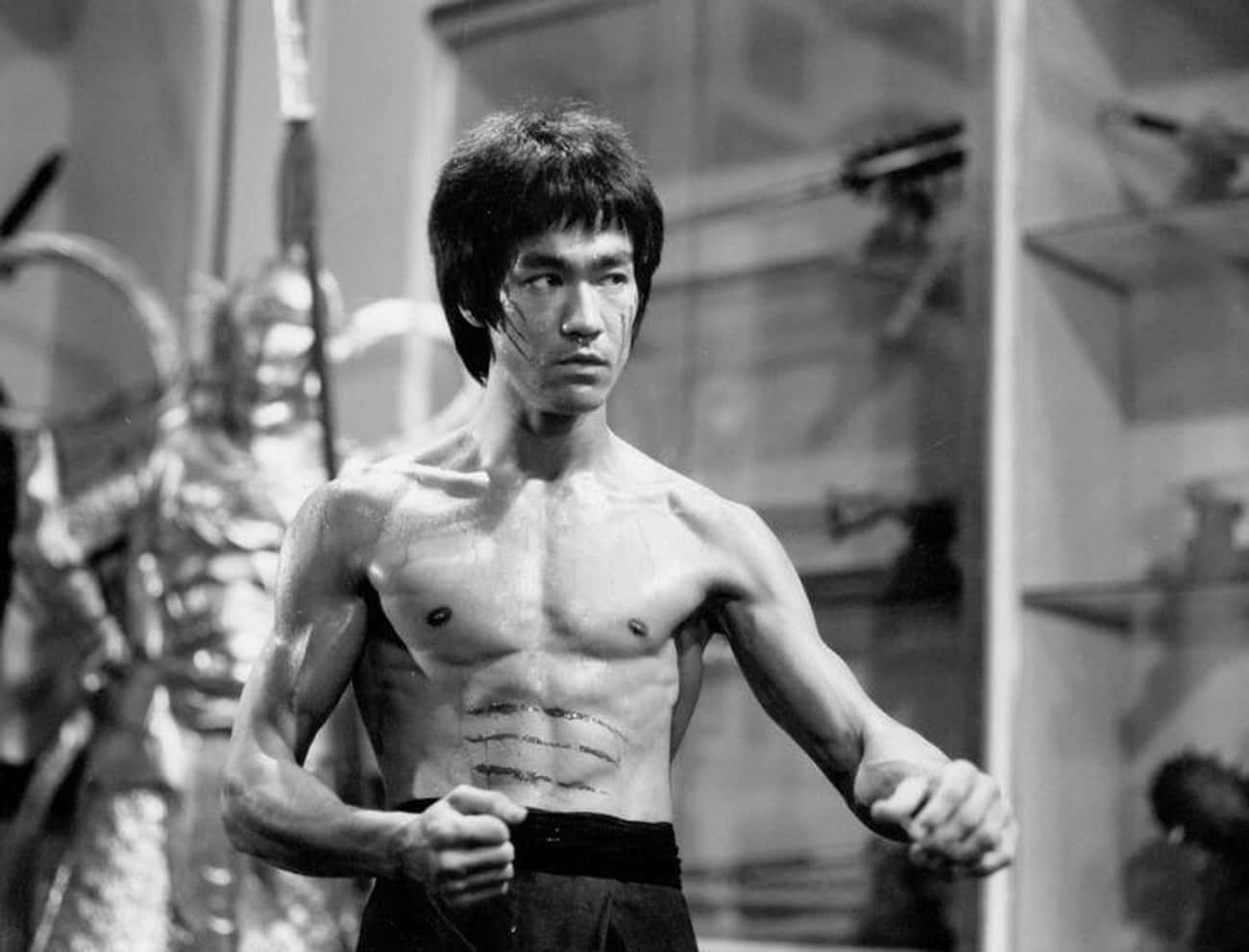 Martial Arts Master, Bruce Lee is listed (or ranked) 1 on the list 24 Things You Didn't Know About Bruce Lee