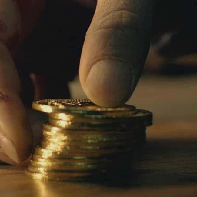 Wick's Coins Represent The Tol... is listed (or ranked) 3 on the list The 'John Wick' Series Is Actually An Adaptation Of Greek Mythology