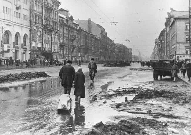 An Estimated 2,000 Peopl... is listed (or ranked) 1 on the list Newly Released Diaries Reveal Cannibalism At Siege Of Leningrad
