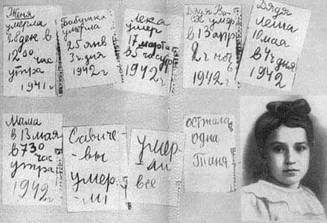 Many People Kept Diaries... is listed (or ranked) 2 on the list Newly Released Diaries Reveal Cannibalism At Siege Of Leningrad