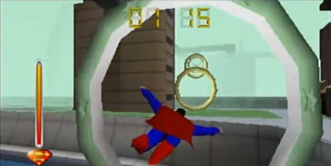 Superman 64 Is A Failure... is listed (or ranked) 1 on the list The 12 Worst Superhero Video Games Ever Inflicted Upon Mankind