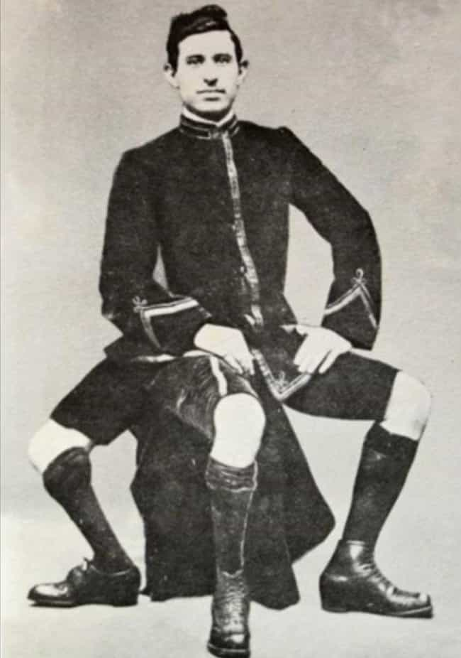 He Was Discovered And Br... is listed (or ranked) 4 on the list These 19th Century Photos Of A Guy With 3 Legs Are Pretty Shocking