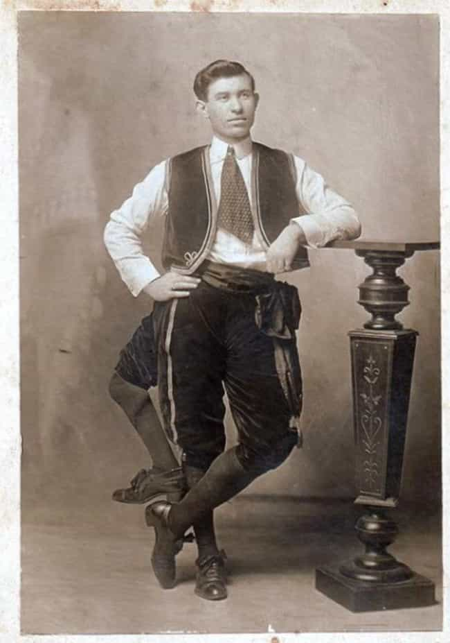 He Had Two Functioning P... is listed (or ranked) 2 on the list These 19th Century Photos Of A Guy With 3 Legs Are Pretty Shocking