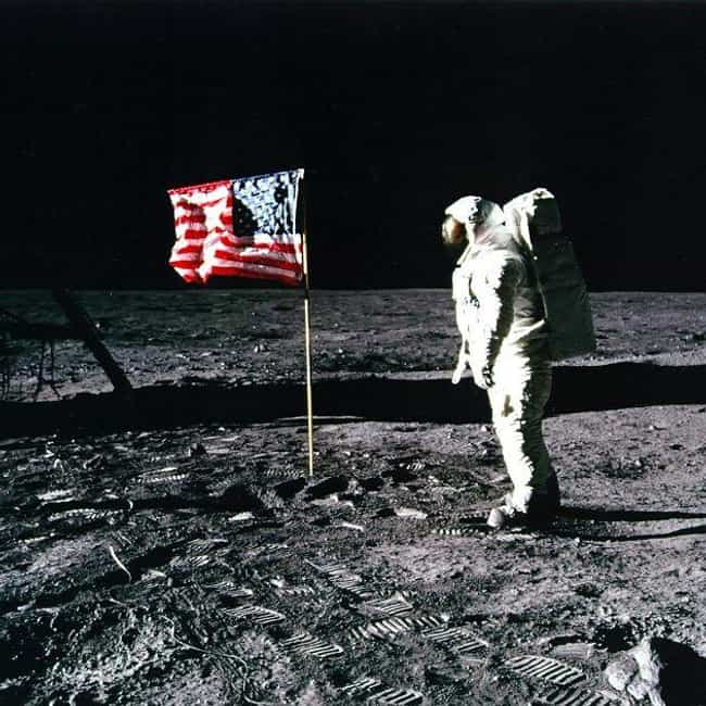 The Fluttering Flag Would've B... is listed (or ranked) 3 on the list A Breakdown Of The Conspiracy Theory That The Moon Landing Was Faked