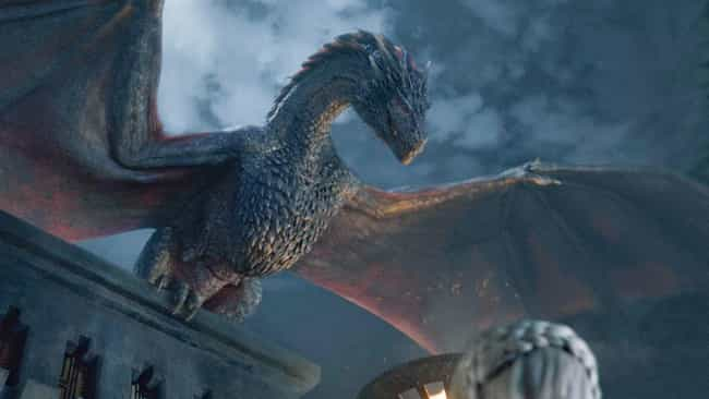 Dragons Do, In Fact, Have Weak... is listed (or ranked) 2 on the list The Secret History Of Dragons In 'Game Of Thrones' (And How To Slay Them)