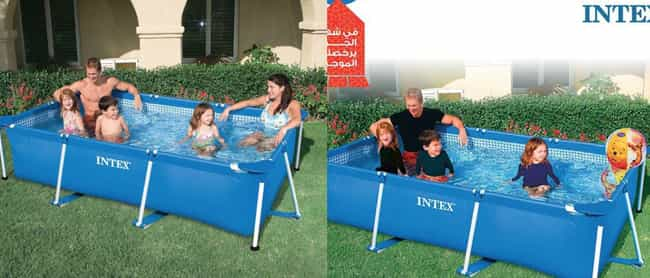 Intex Pools, Now With A Beach ... is listed (or ranked) 4 on the list These Pictures Reveal How Everyday Products Are Censored In The Middle East