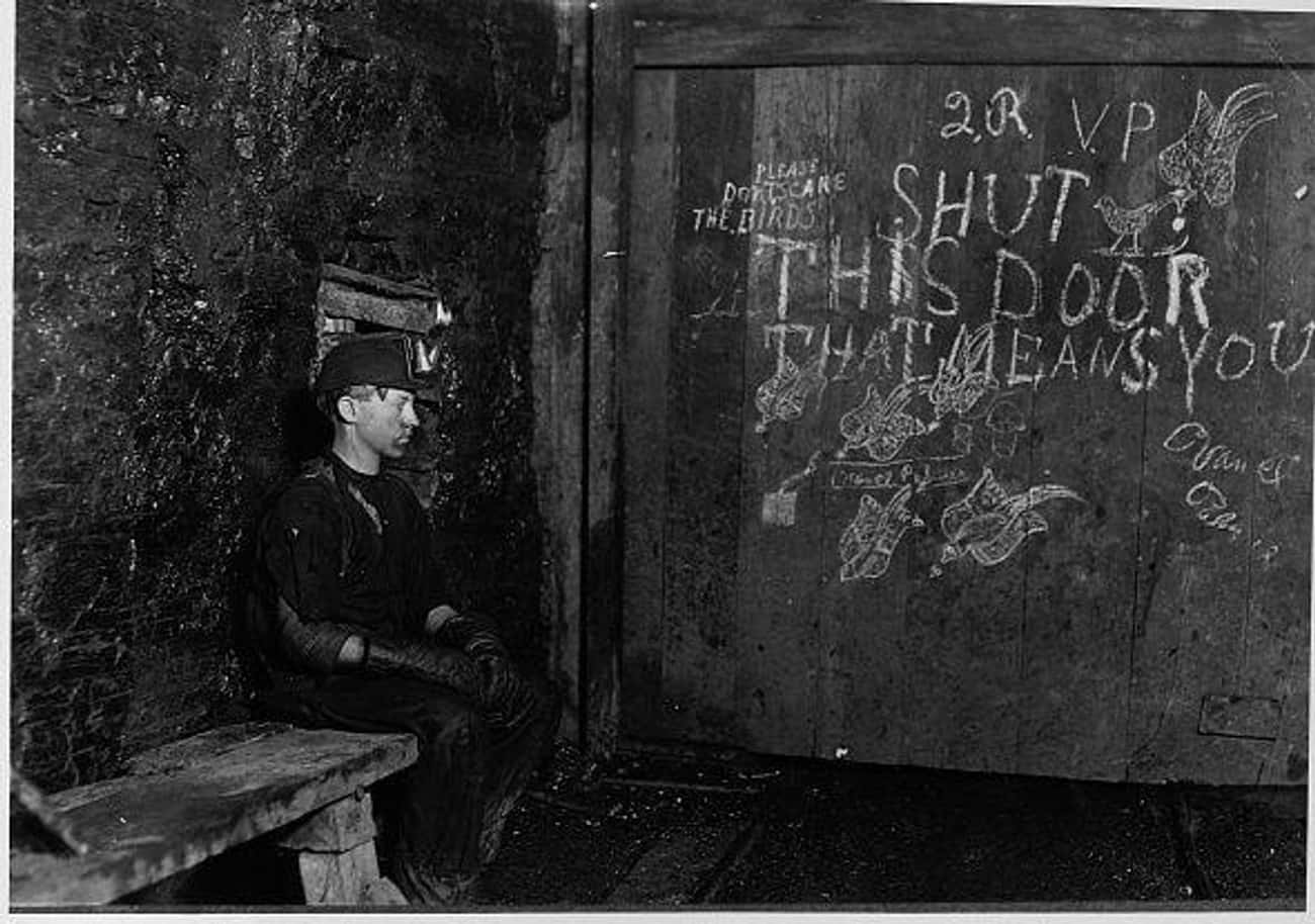 Vance, A Young WV Coal Miner,  is listed (or ranked) 3 on the list Tragic Photos Of Child Miners That Will Make You Grateful For The Government
