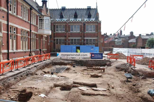 King Richard III Was Dis... is listed (or ranked) 1 on the list Historical Artifacts Discovered Under Parking Lots