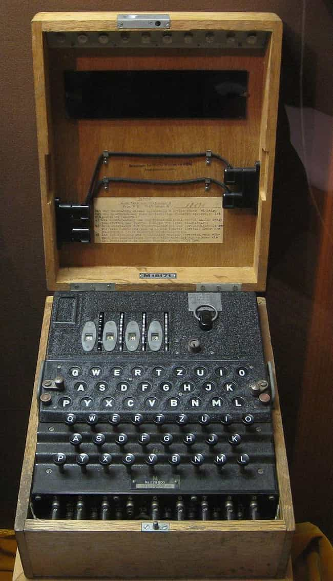 The Guy Who Found It Onl... is listed (or ranked) 1 on the list A Man Bought A WWII Enigma Machine For $114 And Sold It For $50k