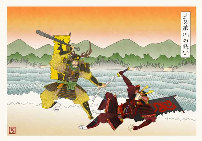 Robert Baratheon And Rhaeger T... is listed (or ranked) 3 on the list This Artist Reenvisioned Game Of Thrones In Feudal Japan