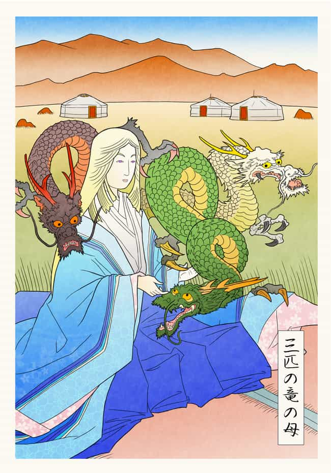 Mother Of Dragons is listed (or ranked) 2 on the list This Artist Reenvisioned Game Of Thrones In Feudal Japan