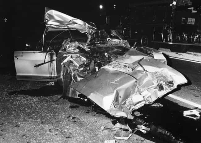 The Car Is Now On Displa... is listed (or ranked) 3 on the list This Playboy Model's Fatal Car Crash Was So Brutal It Changed Federal Law Forever