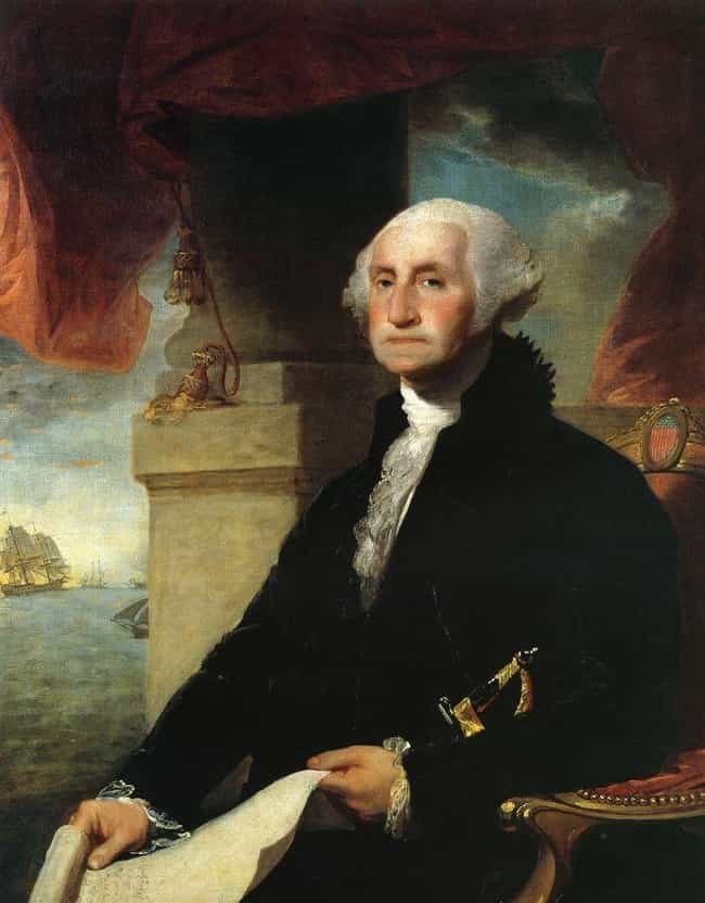 George Washington Chowed Down ... is listed (or ranked) 4 on the list Weird And Disgusting Foods The Founding Fathers Ate