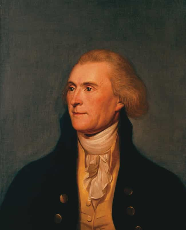Thomas Jefferson Dined On Bake... is listed (or ranked) 2 on the list Weird And Disgusting Foods The Founding Fathers Ate