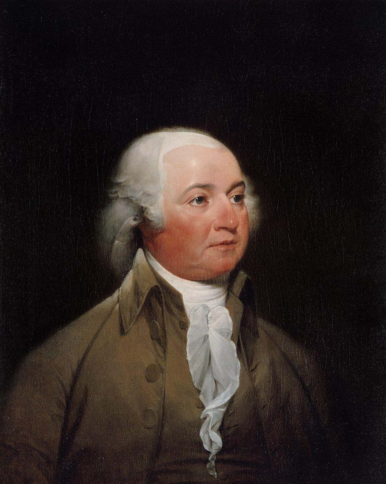 John Adams Served His Guests T is listed (or ranked) 3 on the list Weird And Disgusting Foods The Founding Fathers Ate