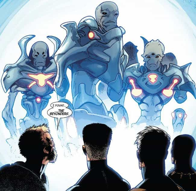 The Beyonders Are Marvel's Cor... is listed (or ranked) 3 on the list Wildly Convincing Marvel Comic Books Fan Theories