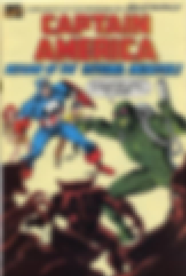 Captain America Battles Asthma... is listed (or ranked) 4 on the list 22 Bizarre Photos Of Superhero PSAs From Old Comic Books