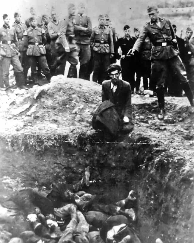 The 'Last Jew In Vinnits... is listed (or ranked) 2 on the list This Infamous Photo Captures The Moment The Last Jew In Vinnista Was Murdered