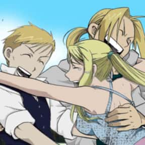 Edward, Alphonse, And Winry -  is listed (or ranked) 7 on the list The 20+ Greatest Anime Trios Of All Time