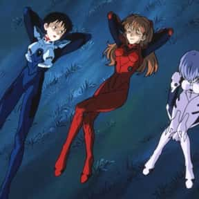 Rei, Shinji, And Asuka - Neon  is listed (or ranked) 23 on the list The 20+ Greatest Anime Trios Of All Time
