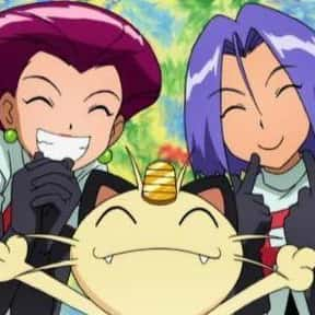 Jessie, James, And Meowth - Po is listed (or ranked) 4 on the list The 20+ Greatest Anime Trios Of All Time