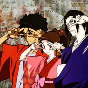 Mugen, Jin, And Fuu - Samurai  is listed (or ranked) 8 on the list The 20+ Greatest Anime Trios Of All Time