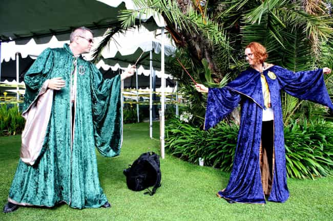 Hogwarts Students is listed (or ranked) 4 on the list We Took Photos Of Common Cosplays Everyone Did At SDCC 2017