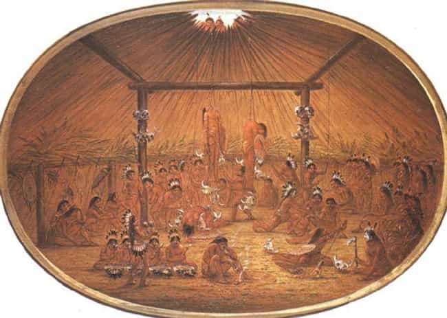 In The Mandan Tribe, You Were ... is listed (or ranked) 2 on the list Rites Of Passage In Native American Cultures Were Excruciatingly Painful And Basically Torture