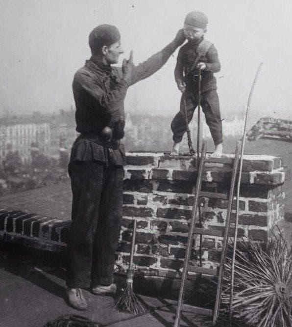 Random Children In Victorian England Were Sold Into Chimney Sweeping Slavery