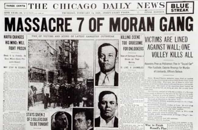 Police Were Never Officially A... is listed (or ranked) 4 on the list The True Story Behind The St. Valentine's Day Massacre