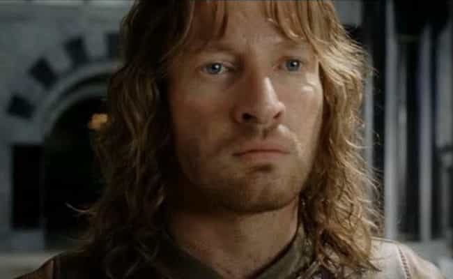 Making Faramir Look Like... is listed (or ranked) 2 on the list Serious Tolkien Fans Completely Freak Out Over These Parts Of Lord Of The Rings